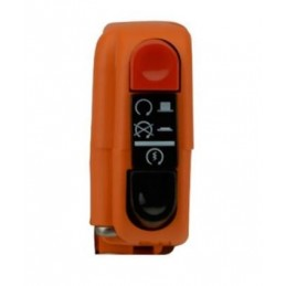 Right-hand Tommaselli orange signal switch with switch