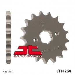 JT SPROCKETS Front Sprocket 15 Teeth Steel Standard 428 Pitch Type 1264