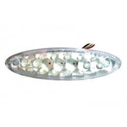 V PARTS Rear Light w/ License Plate Light LED Universal
