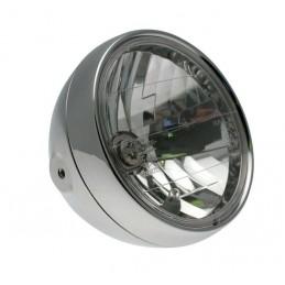 BIHR Classic Headlight Chromed Ø180x160mm universal