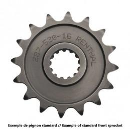 RENTHAL Front Sprocket 10 Teeth Steel Standard 520 Pitch Type 325 Gas Gas