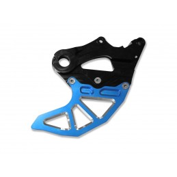 ART Rear Disc Protector Blue with Caliper Protection Sherco