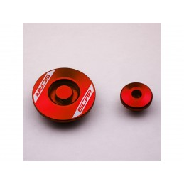 SCAR Engine Plug Red Suzuki