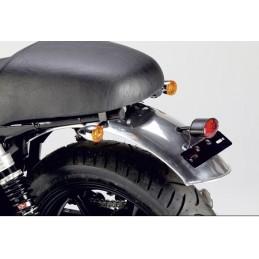 Universal rear aluminium mudguard