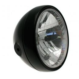 BIHR Classic Headlight Black Ø180x160mm universal